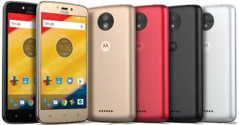 Purported press shots of the Motorola Moto C
