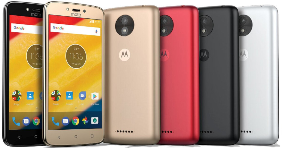 Purported press shots of the Motorola Moto C - Moto C and Moto C Plus certified in Russia ahead of official announcement
