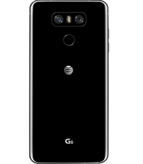 The AT&T version of the LG G6 has a logo as large as the fingerprint scanner