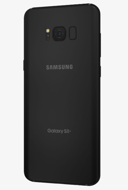 There is no carrier branding at all on the Galaxy S8