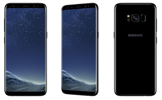 The Samsung Galaxy S8 (pictured) and the Samsung Galaxy S8+ both launch today in selected markets - Samsung Galaxy S8 and Samsung Galaxy S8+ both officially launch today