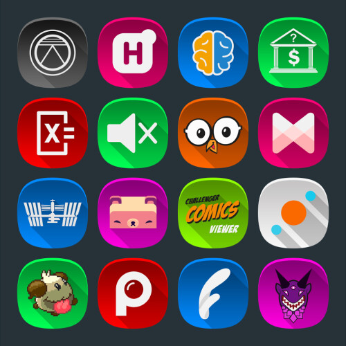 Free Android icon packs