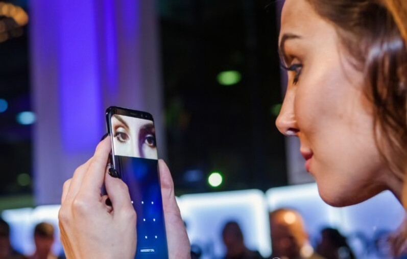 Samsung Galaxy S8's iris scanner could be used for mobile ...