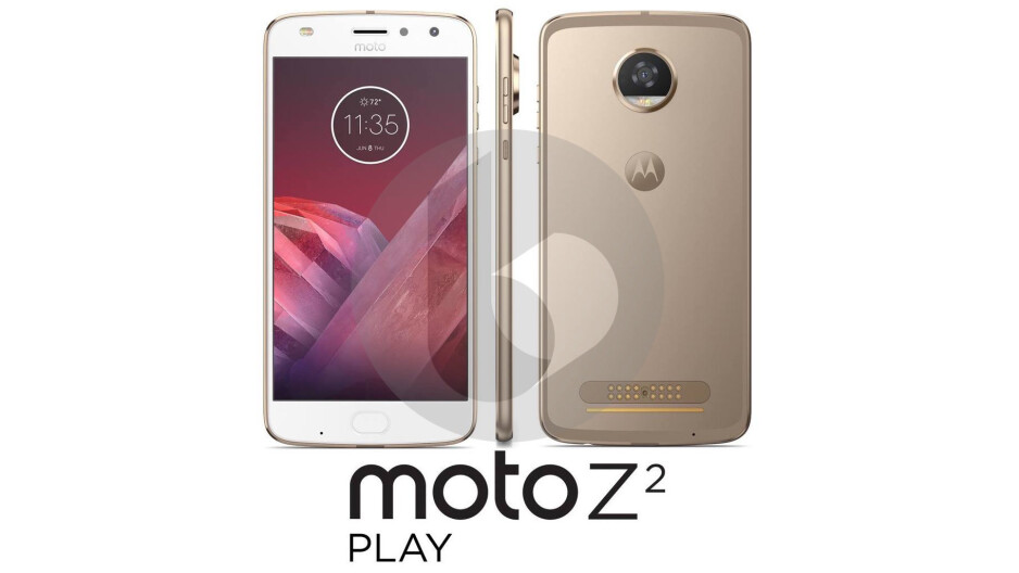 Leaked press render of the Moto Z2 Play shows a very incremental update