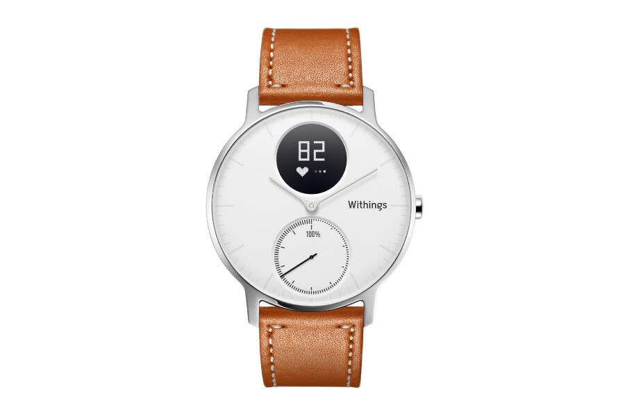 Nokia Unveils The Withings Steel Hr Leather Special