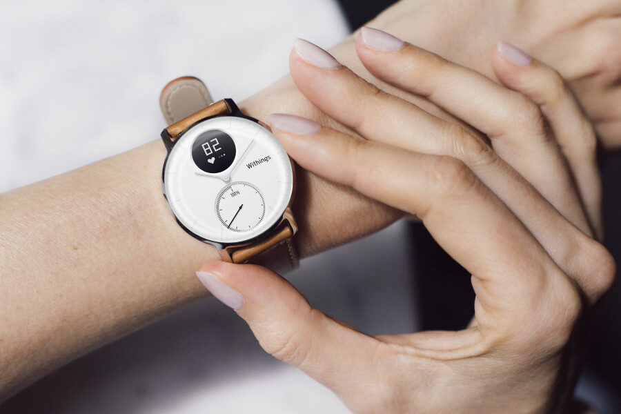 Nokia unveils the Withings Steel HR Leather Special ...