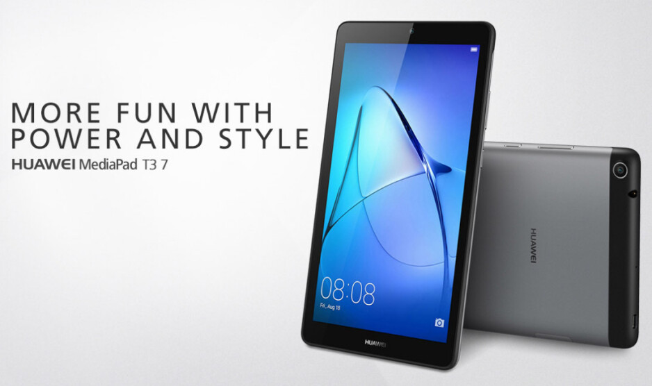 Huawei MediaPad T3 affordable tablet duo unveiled in Europe