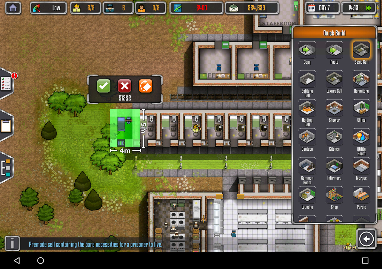 Prison Architect For Android