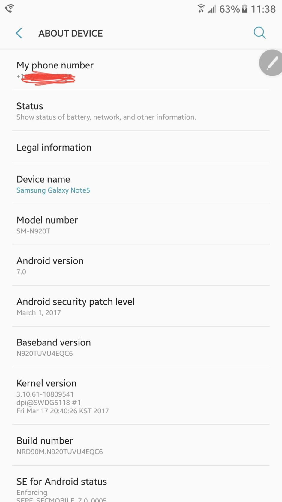 T-Mobile rolls out Android 7.0 Nougat for Samsung Galaxy Note 5