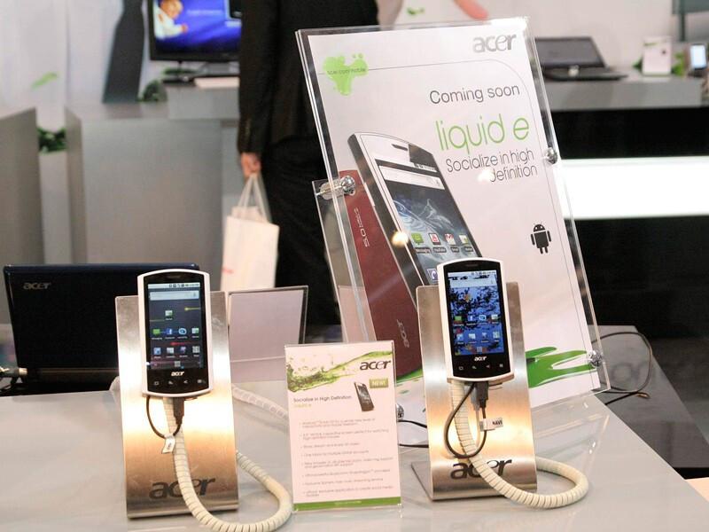 Acer Liquid e - MWC 2010: Live Report