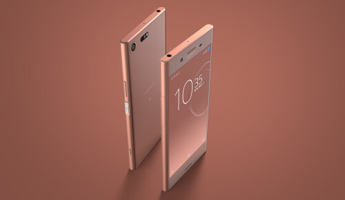 Xperia XZ Premium in Bronze Pink