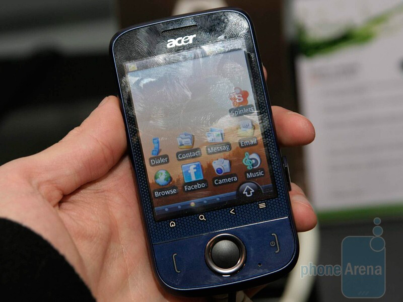 Acer beTouch E110 - MWC 2010: Live Report