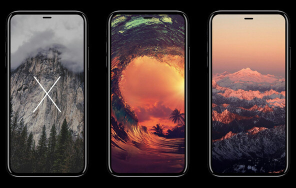 Because of issue with lamination, Apple has reportedly decided on using a flat OLED panel for the Apple iPhone 8. This illustration shows a 3D model made by a third-party - Report: Samsung and LG are each working on a display with four curved sides