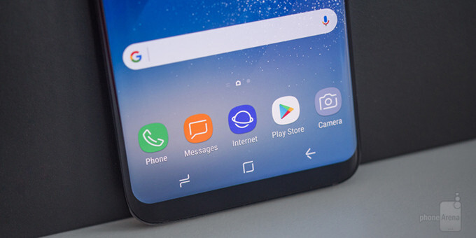 How to customize the software navigation buttons on the Galaxy S8 and Galaxy S8+