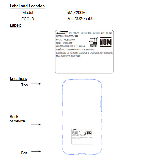 The Tizen powered Samsung Z2 receives its FCC certification - Tizen it great? Samsung Z2 visits the FCC heralding possible U.S. launch of the handset