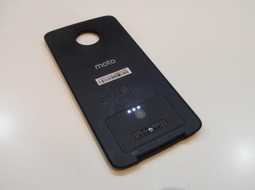 Back of Moto Power Pack