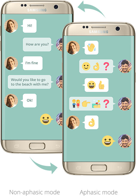 Samsung's emoji-only texting app actually has a good reason for existing