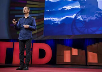 om Gruber told at TED how Siri assisted a quadriplegic user - Siri co-founder talks about superhuman computer-assisted memory at TED conference