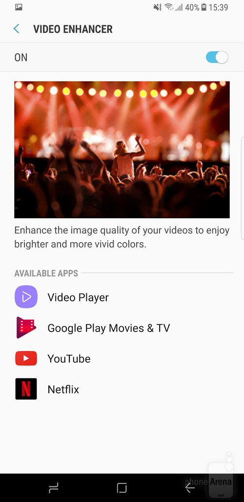 """What the Galaxy S8/S8+ """"Video enhancer"""" does and how to use it"""