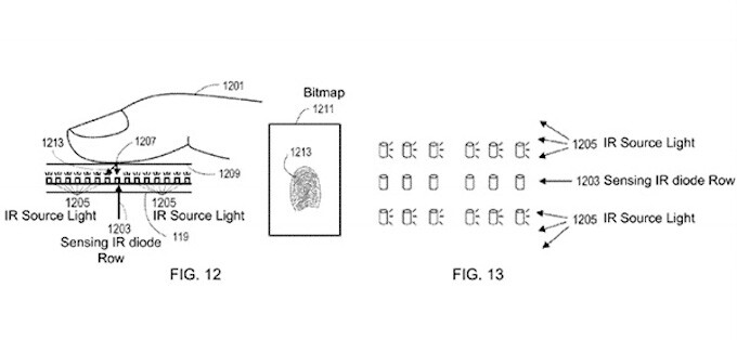 Apple's micro-LED screen patent shows in-built infrared diodes that support in-screen fingerprint reading - What's the future of LED displays? Apple already working on own micro-LED units, reports say