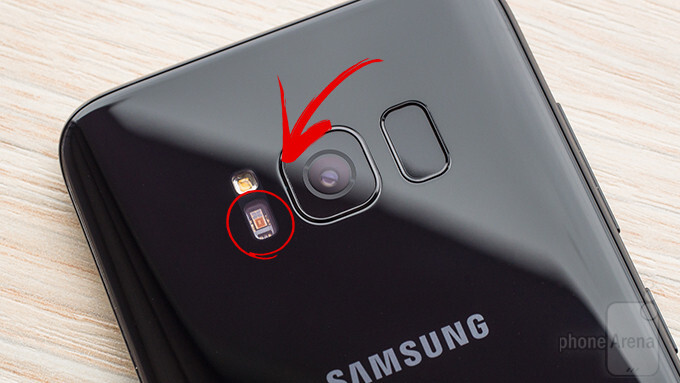 That heart rate sensor on the back of your Galaxy S8 can actually be useful for something