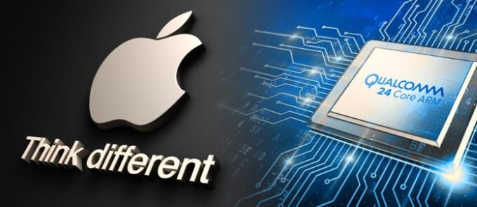 Qualcomm lowers its profit forecast, as Apple won't pay royalties