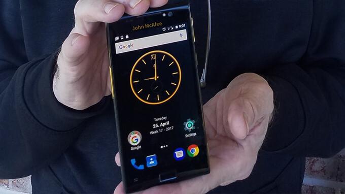 "John McAfee, of antivirus fame, reveals ""world's most hack-proof"" John McAfee Privacy Phone"