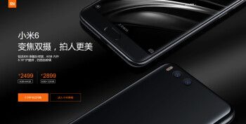 The next flash sale for the Xiaomi Mi 6 will take place on Friday, May 5th at 10am local time