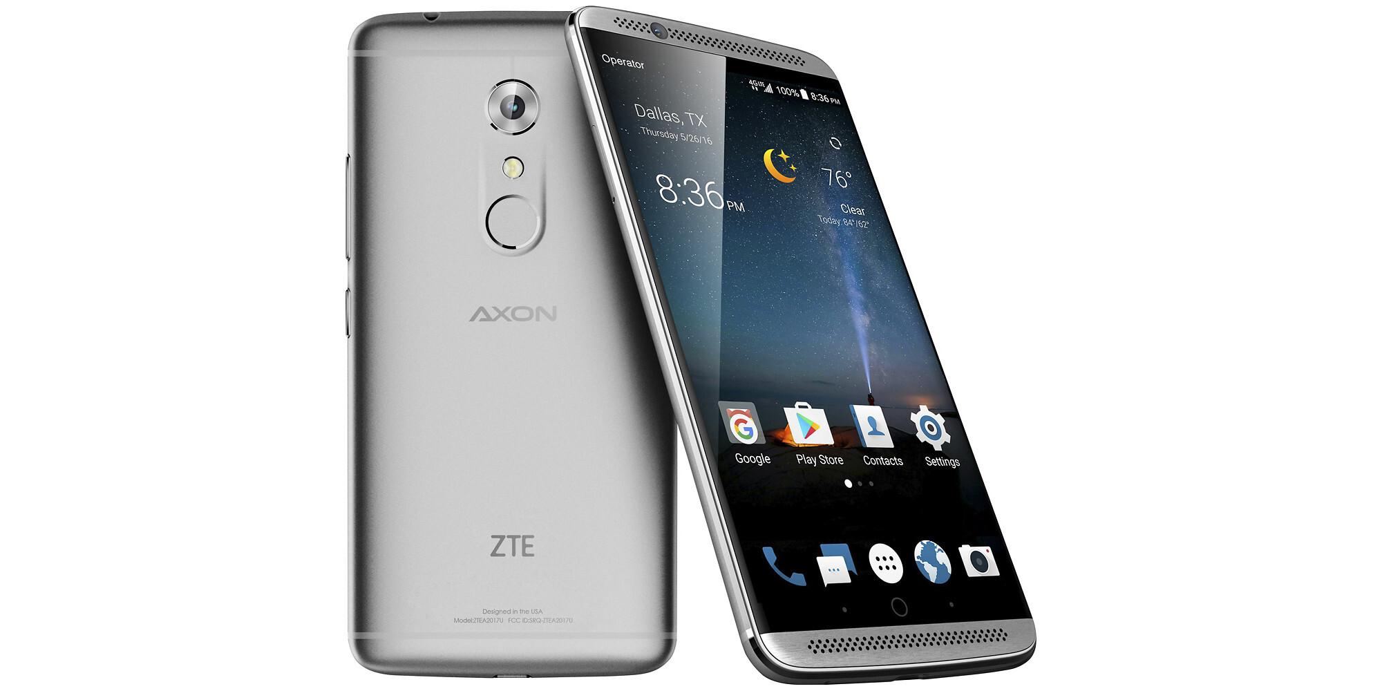 zte axon support will