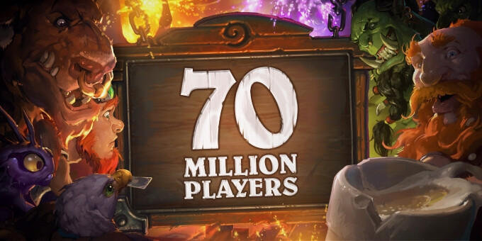 Blizzard is giving away free Hearthstone packs, celebrating 70 million players
