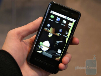 The Saygus Vphone runs Android 1.6 and has some nice specs like 800MHz processor