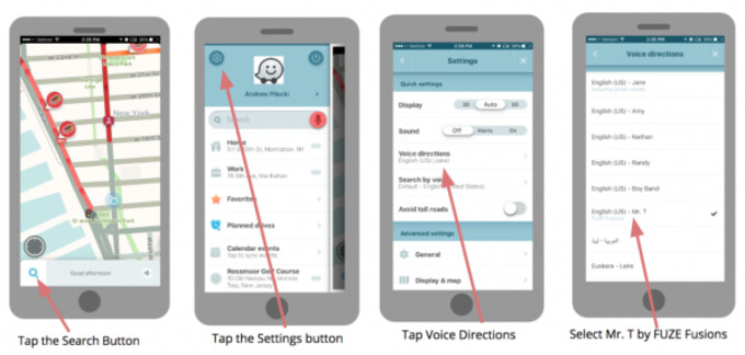 Waze adds Mr T to its celebrity navigation voice options