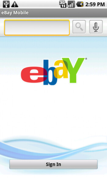 Android now has eBay app of its own