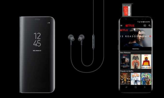 Deal: Buy a Galaxy S8/S8+ and receive a Clear View Cover, 64GB card, and 6 months of Netflix for free!