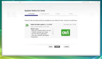 Nokia Ovi Suite 2.1 adds Ovi.com contacts sync & media transfer