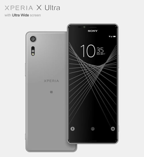 Renders depict rumored Sony Xperia X Ultra