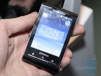 The Sony Ericsson Xperia X10 mini