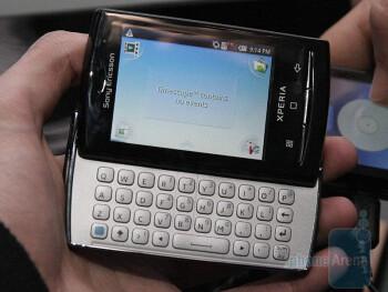 The Sony Ericsson Xperia X10 mini