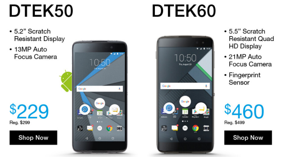 BlackBerry debuts May sale with deals on Android smartphones