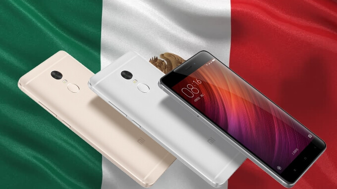 Xiaomi is creeping up on the Americas, entering the Mexican market with the Redmi Note 4