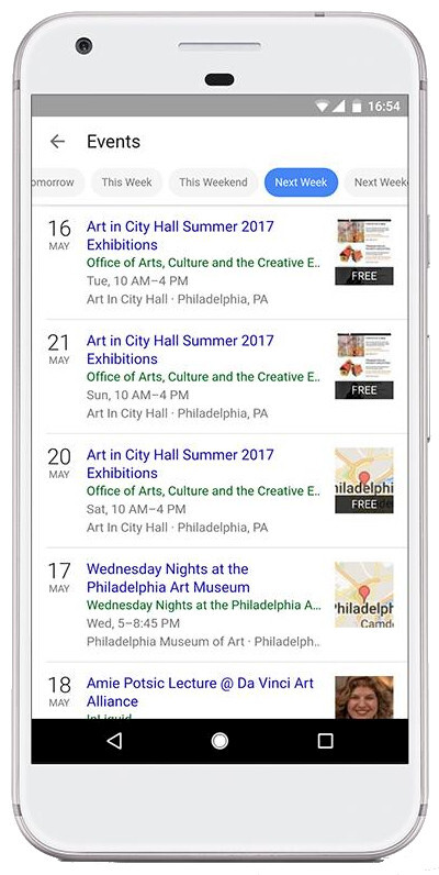 """Google Search gets new """"Events"""" feature on iOS devices"""