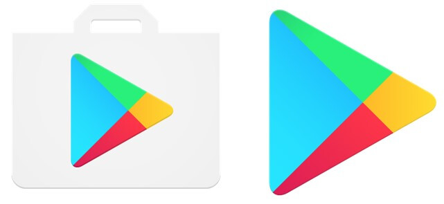 Oh, no! Google's Play Store icon losing its iconic shopping bag wrapper