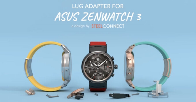 The ASUS ZenWatch 3 may finally get compatibility with regular 22m wrist bands and straps