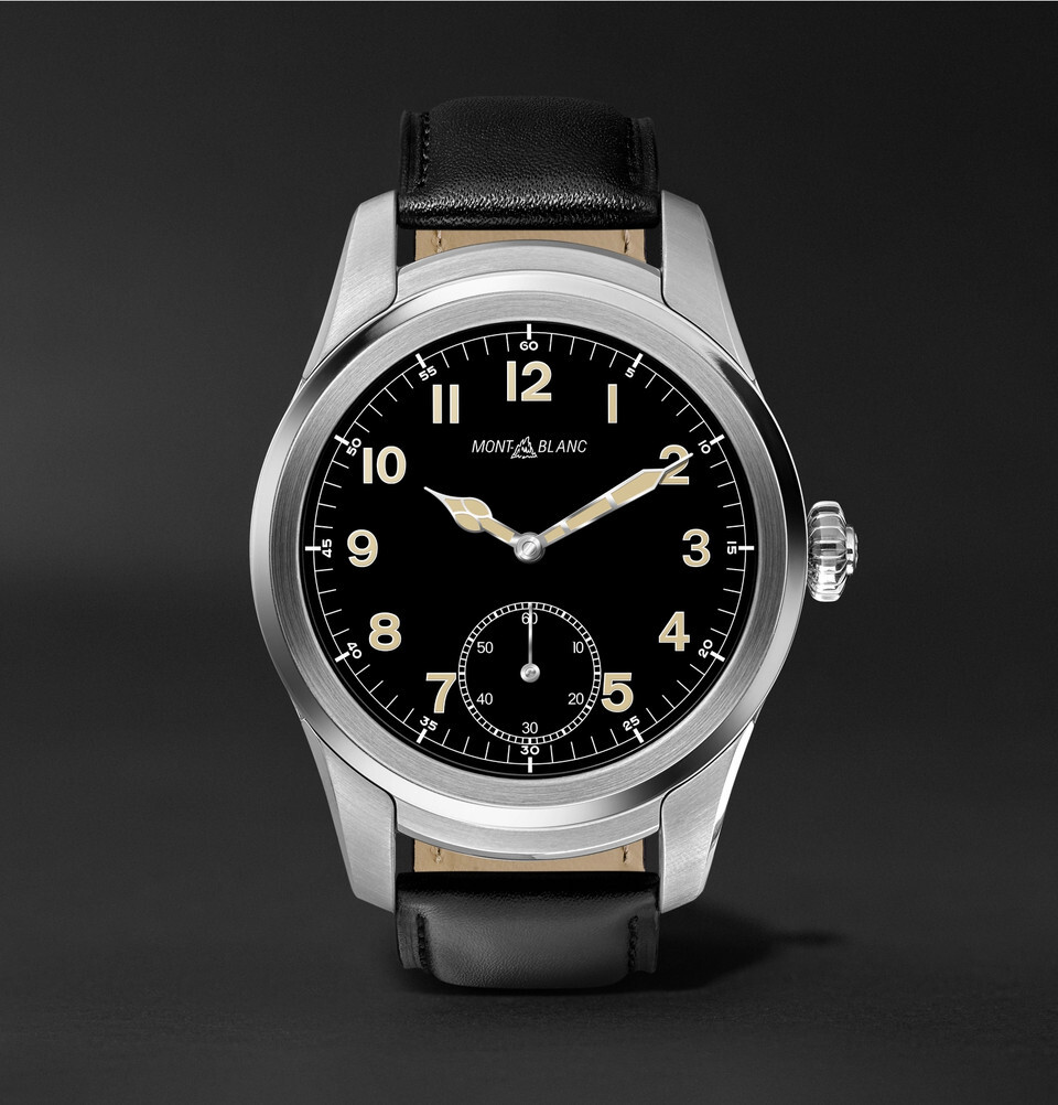 Montblanc Summit luxury smartwatch goes on sale in the US ...