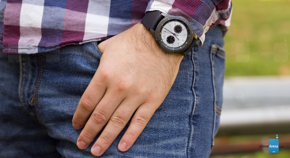 Pictured - the Gear S3 frontier - Android Wear market share surpassed by Samsung's Tizen, Apple Watch still king of the hill