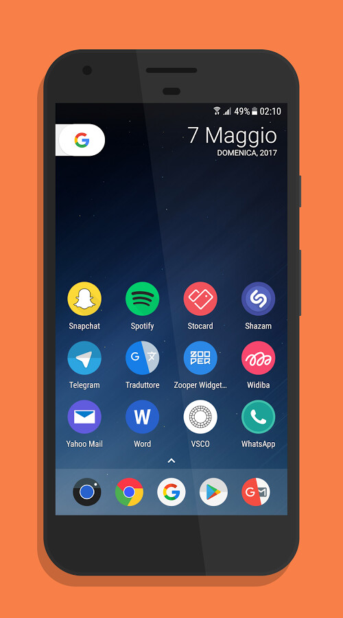 Download Galaxy S8 launcher Theme latest 1.5.7 Android APK