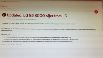 T-Mobile pulls the LG G6 BOGO deal in the US for reasons unknown