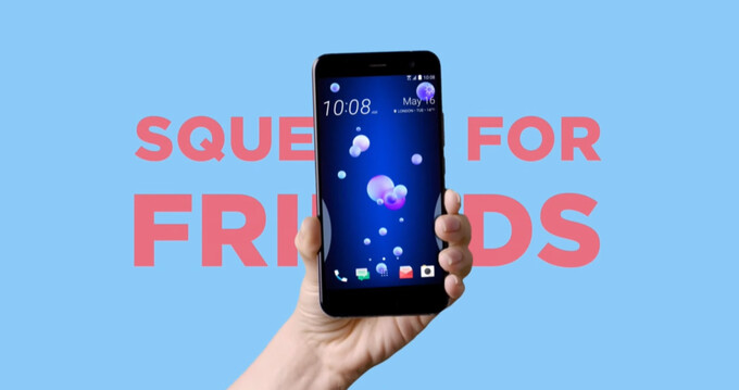HTC Edge Sense explained: here's what you can do with a squeeze of the HTC U 11