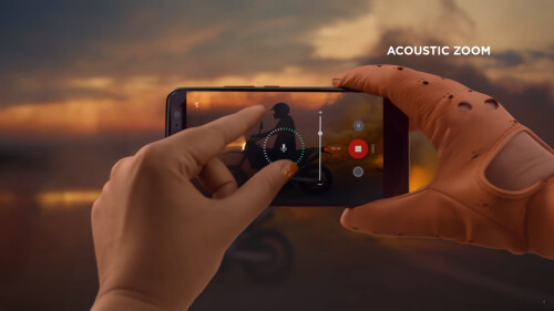360-degree audio recording, focused recording