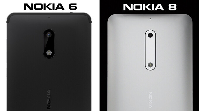 Note the different shape of the camera module - The Nokia 8 and 9 make a surprising appearance in an official introduction video